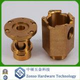 Processando as peças complicadas fazendo à máquina do CNC do bronze da elevada precisão