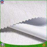 Tissu imperméable à l'eau de rideau en arrêt total de franc de polyester tissé par textile à la maison pour le rideau en guichet