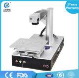 Machine de bijou de boucle de découpage d'inscription de laser de fibre de l'usine 50W de haute précision