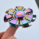 Girocompás multicolor del juguete del dedo del autismo de Adhd del foco de Torqbar del hilandero de la mano de la persona agitada