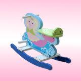 Bebé que oscila, silla de oscilación, silla de oscilación de madera, oscilación de madera del bebé
