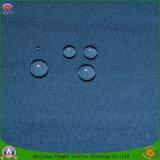 Tissu tissé par tissu à la maison de rideau en guichet de polyester de rideau en franc Blckout d'enduit de textile