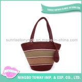 Custom Designer Shopping Fashion Wholesale Yarn Lady Handbag