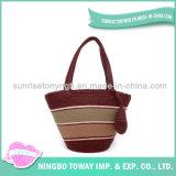 Madame personnalisée Handbag de filé de vente en gros de mode d'achats de créateur