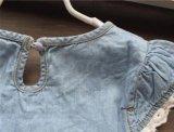 Vestido feito pronto de Jean da menina na roupa das crianças