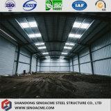 L'entrepôt rapide de structure métallique de lumière de construction/a jeté