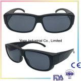 Ajustement au-dessus des hommes et des femmes pour les lunettes de soleil polarisées par mode