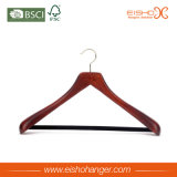 Eisho Flat Body Vintage Durable Wood Coat Hanger