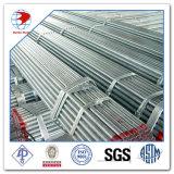 ASTM un grado di 53/A53m un Dn 25 Std ha galvanizzato il tubo d'acciaio saldato tuffato caldo filettato e coppia