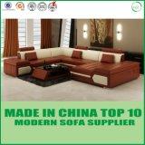 Modernes Möbel-Wohnzimmer-Leder-Hauptsofa