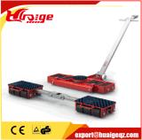 Trole de transporte móvel 6t ~ 18t Trolley ajustável