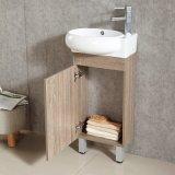 Suelo que coloca la cabina de cuarto de baño de madera tamaño pequeño
