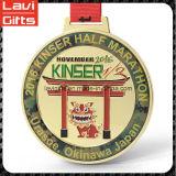 Медаль марафона нового высокого качества конструкции изготовленный на заказ
