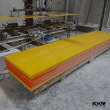 Aprovado pela CE pedra artificial de superfície contínua acrílica