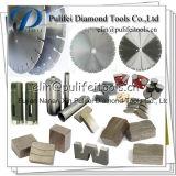 Этап вырезывания диаманта для резца камня мрамора гранита конкретного увидел