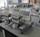 Machine de broderie à deux têtes 15 couleurs / Machines à broder à serviette à serviette avec Dahao Control System