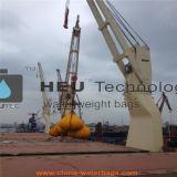 50t de zeeZak van het Gewicht van het Water van de Test van de Lading van de Kraan & van de Kraanbalk