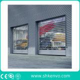 Puerta de Alta Velocidad Aislada Termal del Obturador del Rodillo para la Fábrica del Alimento