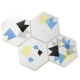 De geometrische Hexagon Tegel Bedxh001b van het Porselein