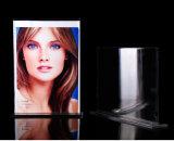 """8.5 de """" frame de retrato acrílico do espaço livre da forma de T X 11 """" com base"""
