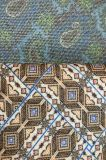 Couro sintético artificial para sapatas, vestuário do Glitter bonito, decoração, mobília (HS-Y64)