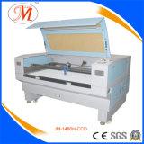 Machine de découpage de laser de textile avec l'appareil-photo élevé de définition (JM-1480H-CCD)