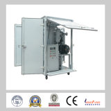 Purificatore di olio a due tappe di vuoto di alta efficienza di Zja per l'impianto di lavorazione dell'olio del trasformatore di olio del trasformatore