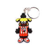 Lovely Style Soft Rubber Key Chain