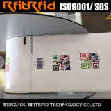 IDENTIFICATION RF adhésive faite sur commande réutilisable de collants de la fréquence ultra-haute 860-960MHz