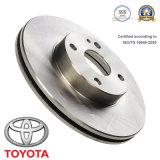 Автомобильные части тормозной диск тормозной ротор для Toyota