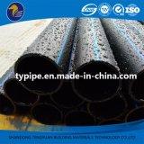 Tubulação de dreno plástica do PE do padrão de ISO