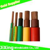 Alambre eléctrico del PVC del PVC del doble / alambre eléctrico con el material aislado PVC