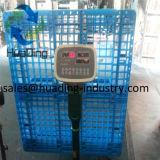 Buena calidad del precio bajo hecha en la paleta plástica negra de China