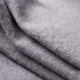 Tessuti di cotone e delle lane per il cappotto di inverno in due lati grigi
