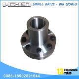 CNC modificado para requisitos particulares que trabaja a máquina la unión por bridas del acero inoxidable