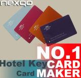 Tarjetas dominantes impresas del hotel del PVC con la viruta de RFID