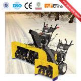 6.5HPガソリン除雪車の安い手押し式雪かき機