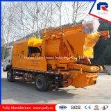 Caminhão hidráulico bomba de mistura concreta montada para a venda