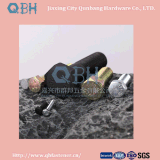 L'hexa boulonne le Cl d'ISO4014 M5-M56. 4.8/6.8/8.8/10.9