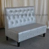Cabina all'ingrosso della mobilia del ristorante con la tappezzeria di cuoio dell'unità di elaborazione (SP-KS291)