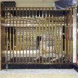 2017新しいデザイン現代304ステンレス鋼の管スクリーンのホテルのホールの壁の区分