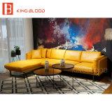 Conjunto de cuero seccional de la esquina moderno del sofá de Dinamarca