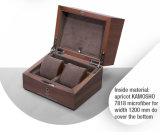 絶妙で貴重で贅沢な木の腕時計のパッケージのケース