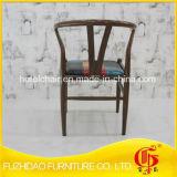 최신 인기 상품은 이용된 다방을%s PU 가죽 의자를 가진 금속을 Y 디자인한다