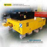 El carril de la manipulación de materiales accionó el coche de transferencia motorizado