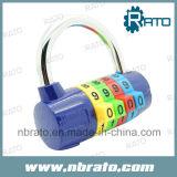 高品質4のコードの組合せの着色されたパッドロック