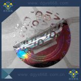 Silver Laser Hologram Honeycomb Sticker Feito na China