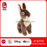 Brinquedo longo enchido simulação do coelho do luxuoso da orelha do animal selvagem