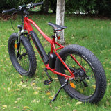 "Transporte rápido 26 ""250W Fat Tire Folding Electric Bike Mountain bicicleta elétrica"