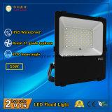 3 años de la garantía LED de iluminación 50W IP65 de la inundación al aire libre con 110lm/W y ángulo de haz de 270 grados